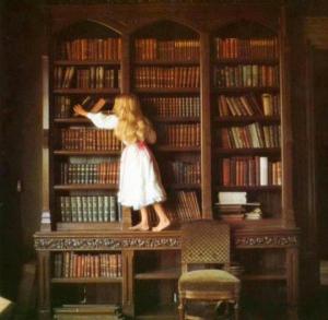 старинная библиотека